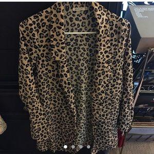 Asos cheetah blazer